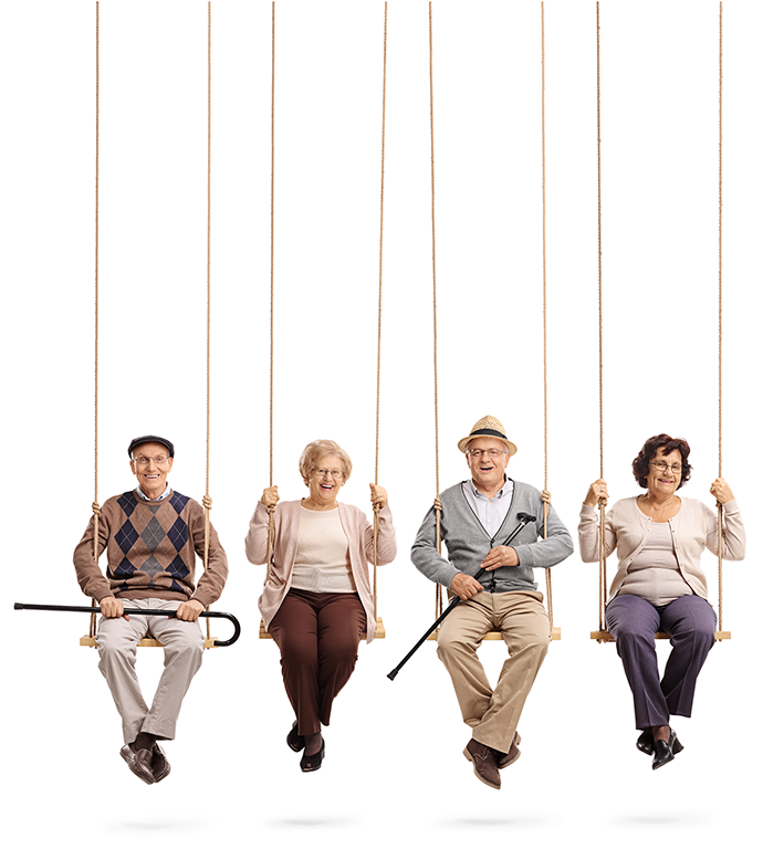KINESIQ senior living swing